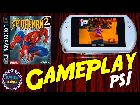 Spider Man 2 : Enter Electro PS1/PSOne/PSP Go GamePlay