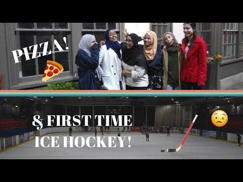 MT1: Pizza & Ice Hockey!! ISOC + Friends