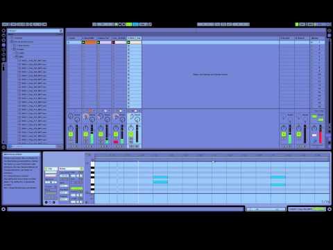 Ableton Tutorial #1 - Pures Techno - Grundaufbau/knackige bassline (german)