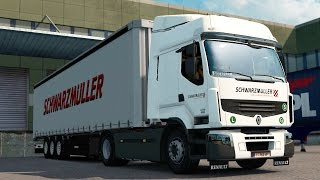 ETS2 1 27 - ProMods 2 16] Scania RJL with Krone low dec