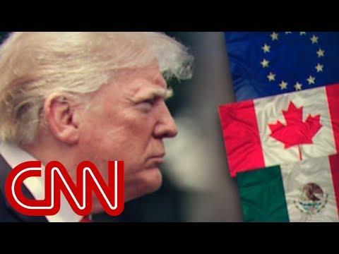 US trade partners announce retaliatory tariffs