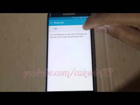 Android : How to Rename Bluetooth Paired Device in Samsung Galaxy S6