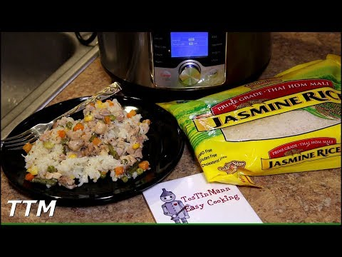 EASY Chicken and Rice in the Instant Pot