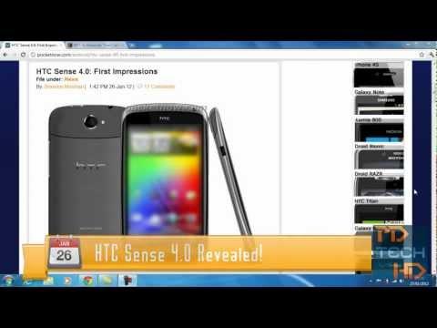 HTC Sense 4.0 Revealed! (No-Screenshots...yet)