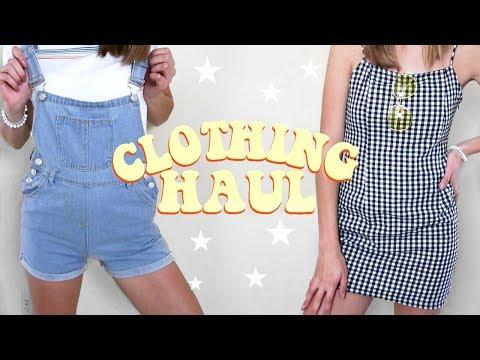 Back to School Clothing Haul! (shein, topshop, adidas, etc)