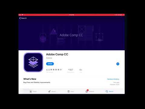 How to design a flyer on an iPad using Adobe Comp CC Episode #10
