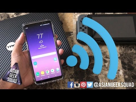 Samsung Galaxy Note 8 - Setting up Wireless Hotspot!