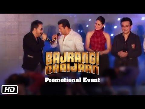 Bajrangi Bhaijaan Prmotional Event | Salman Khan, Kareena Kapoor Khan | Movie Events Video