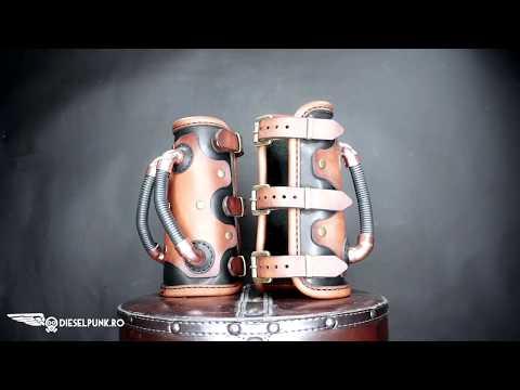 Steampunk Bracers, making of