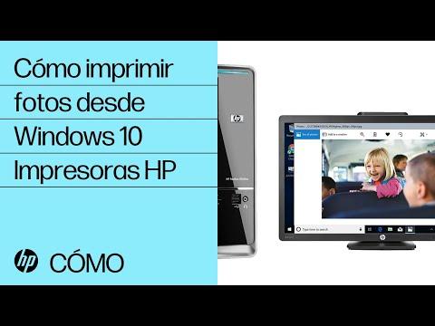 Cómo imprimir fotos desde Windows 10   Impresoras HP   HP