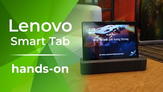 Lenovo Smart Tab is an Android tablet that