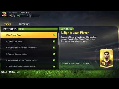 Fifa 15 Ultimate Team hints and tips (part 2) manager tasks