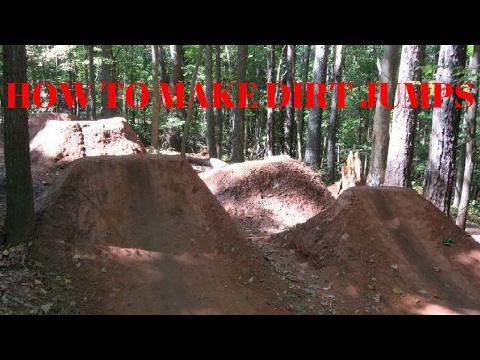 How to make bmx dirt jumps