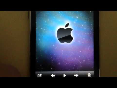 How to Setup a homescreen Wallpaper on your Ipod Touch 2g 3g 4g