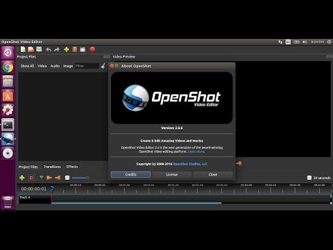 Install OpenShot on Ubuntu using PPA