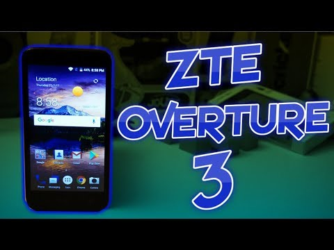 ZTE Overture 3 Unboxing & First Impressions
