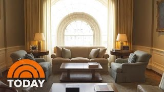 Go Behind The Scenes As Obamas Move Out Of White House And Trumps Move In | TODAY