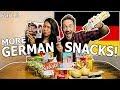 American Girlfriend Tries German Snacks Candy Part 3