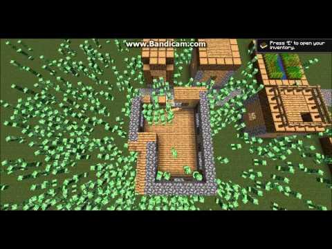 Minecraft: 1000 Creepers vs. 1 Ocelot