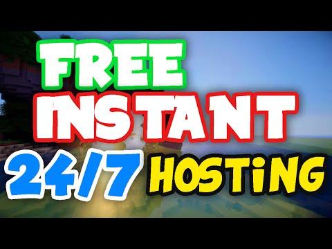 FREE MINECRAFT INSTANT 24/7 SERVER HOSTING