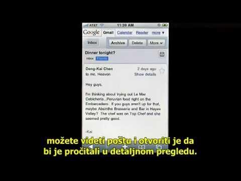 Gmail na vasem mobilnom telefonu jednostavno pogledajte