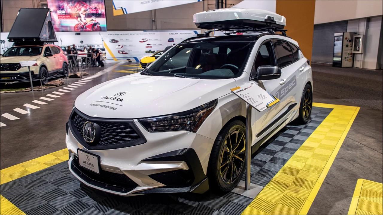 Acura RDX with Concept A-Spec Accessories SEMA 2019 Slideshow