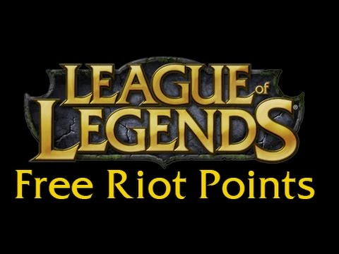 HOW TO GET FREE RIOT POINTS FOR LEAGUE OF LEGENDS [WORKING 2017]