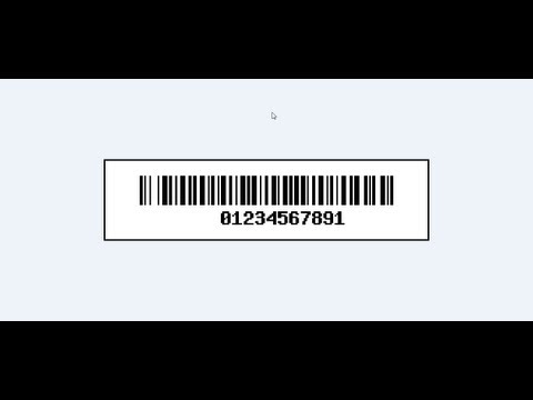 How to create your own Bar code for free