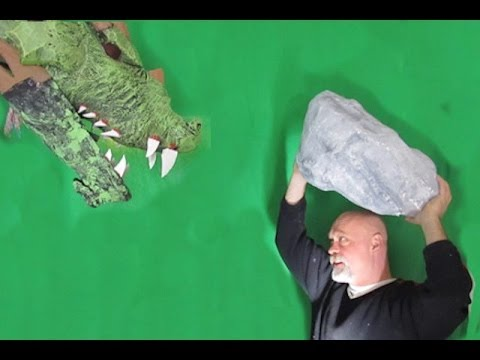 How to make a fake boulder that looks real!