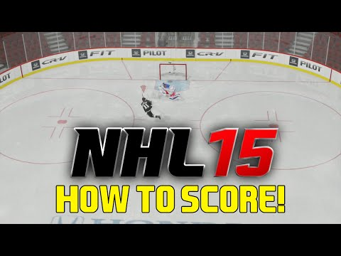 NHL 15: Tips and Tricks - HOW TO SCORE EVERY TIME! (Tutorial)