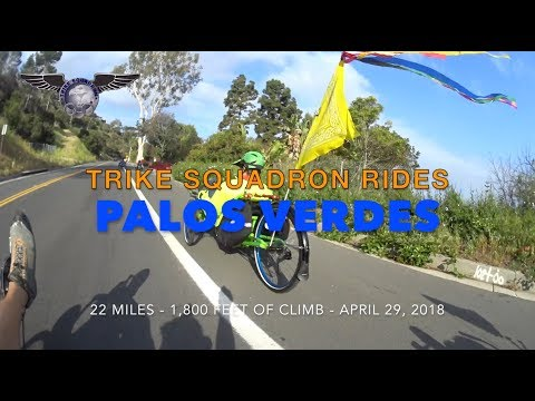 Recumbent Trikes and the Hills of Palos Verdes