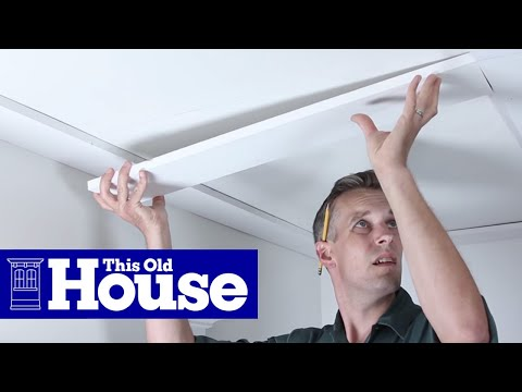 How to Build a Coffered Ceiling - This Old House