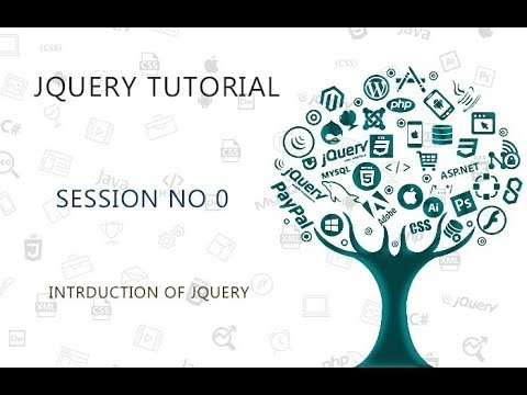 JQUERY TUTORIAL FOR BEGINNERS   0   INTRODUCTION OF JQUERY