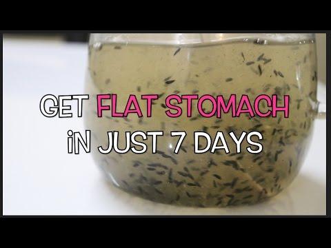 Get Flat Stomach in just 7 Days - Tummy Flattening Drink