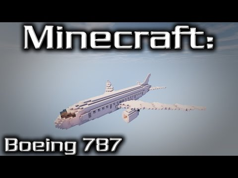 Minecraft: Boeing 787 Tutorial