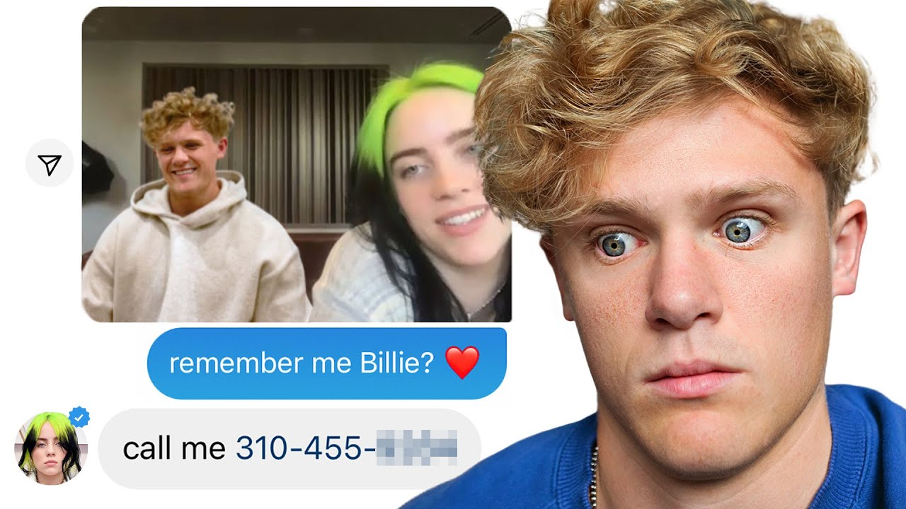 Asking Celebrities If They Remember Me (using fake photos)