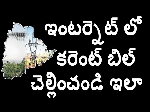 How to pay telangana electricity bill payment in telugu