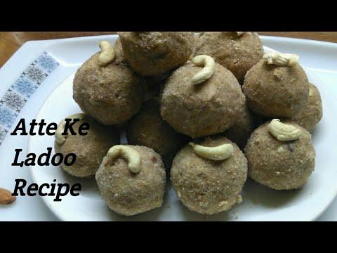 Atta Ladoo recipe - Wheat flour laddu recipe | by Sunita's kitchen |