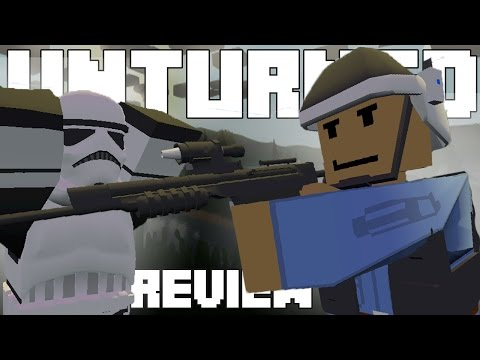 STAR WARS ARMOR AND WEAPONS!!! - Unturned Mod Showcase