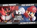 CB 2019 SSBU - Some Person (Incineroar) Vs. Fizz Khalifa (Mario) Smash Ultimate Tournament Pools
