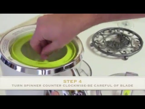How to Disassemble and Clean the Jimmy Buffett Margaritaville Blender - Bahamas style