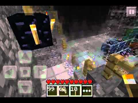 Minecraft PE Lets play Episode 8 - Shnunsign