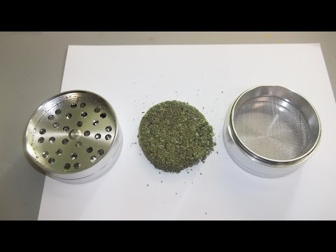 Testing Out The Quantum Crush Herb Grinder