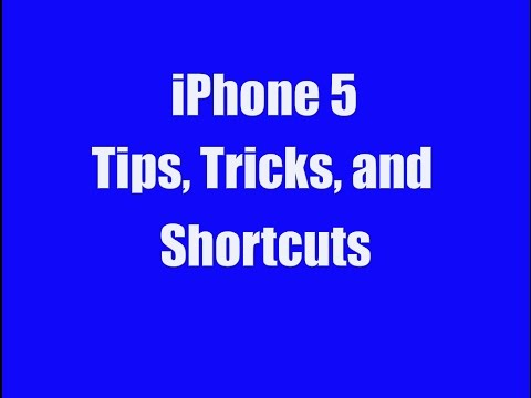 iPhone 5 Tips Tricks and Shortcuts - GoldenYearsGeek.com