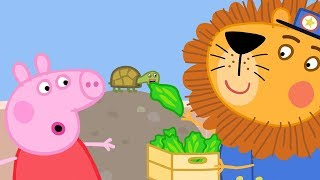Peppa Pig Full Episodes - The Zoo - Cartoons for Children