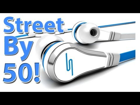 STREET by 50 Cent In-Ear Headphones! SMS Audio