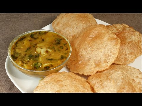 Recipe  of Deep Fried Aloo Puri World's Best Aloo Puri in Hindi