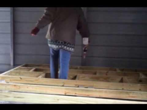Building a Raised Wood Floor