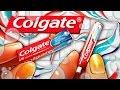 Realistic Miniature COLGATE Toothpaste Tutorial!   DollHouse DIY ♥