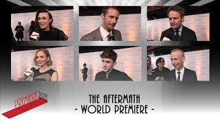 Download The Aftermath - Keira Knightley, Alexander Skarsgård, Jason Clarke interviews Video